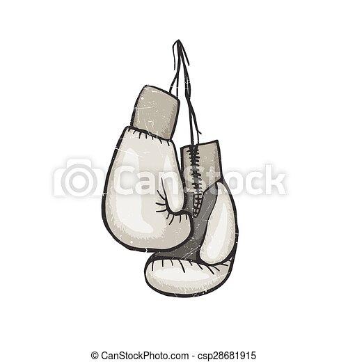 Boxing gloves - csp28681915