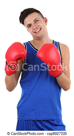 Boxing guy - csp8927335