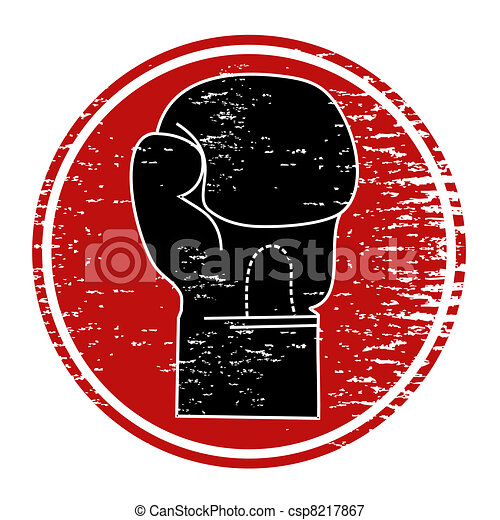 Boxing icon - csp8217867