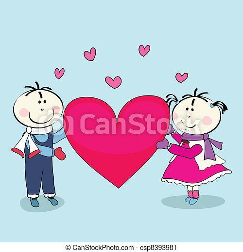 Boy And Girl Happy Valentine S Day