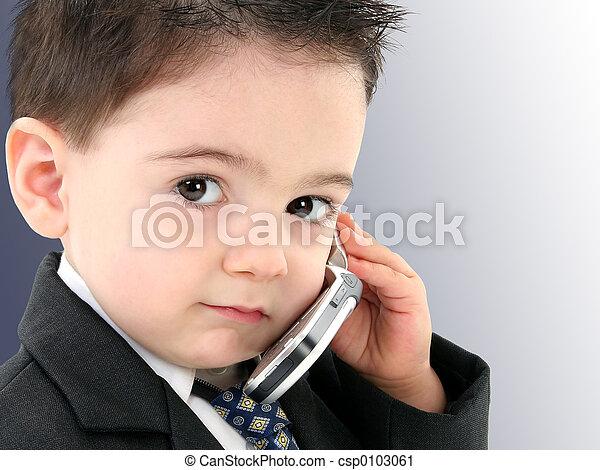 Boy Child Cellphone - csp0103061