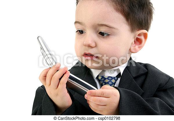 Boy Child Cellphone - csp0102798