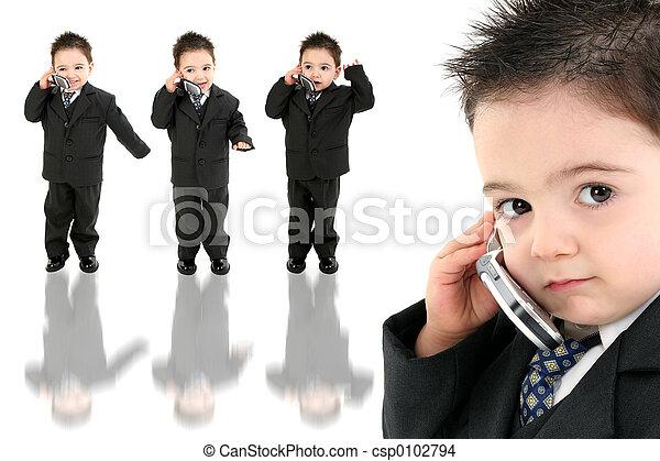 Boy Child Cellphone - csp0102794