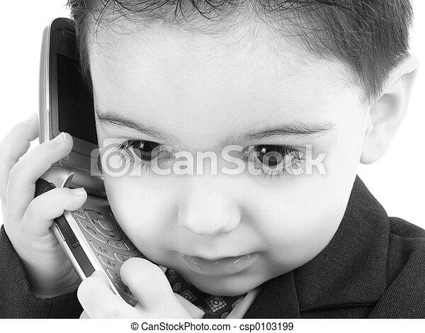 Boy Child Cellphone - csp0103199