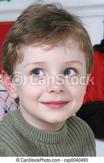 Boy Child Close-up - csp0040493