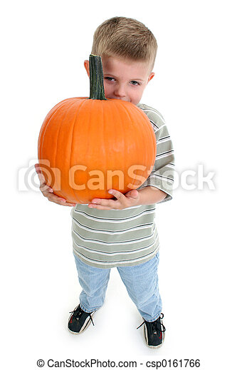 Boy Child Pumpkin - csp0161766