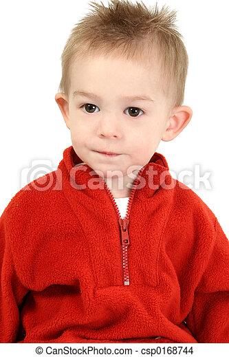 Boy Child Red - csp0168744