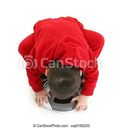 Boy Child Scale - csp0182233