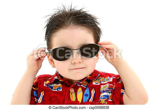 Boy Child Sunglasses - csp0098838