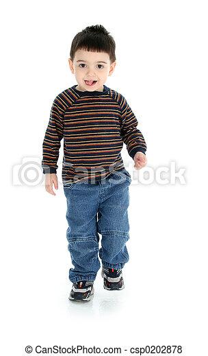 Boy Child Walking - csp0202878