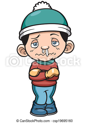 vector illustration of boy in cold weather clip art vector search rh canstockphoto co uk cold clipart images cool clipart images