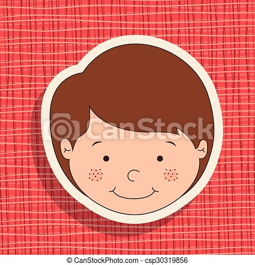 Boy design - csp30319856