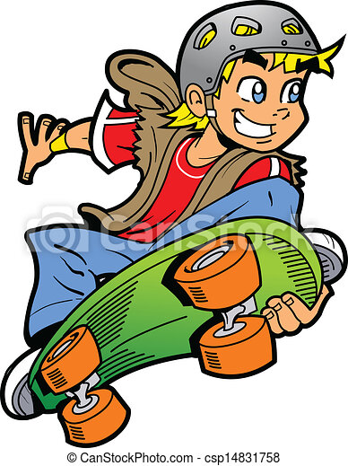 boy doing skateboard jump cool smiling young man or boy doing an rh canstockphoto com skateboard clipart skateboard clipart black and white