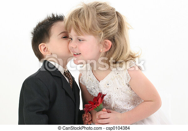 Boy Girl Child Kiss Stock Photos And Images 3257 Pictures Royalty Free Photography Available To Search From Thousands Of