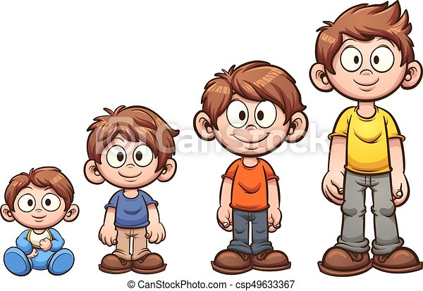 Boy growing up - csp49633367