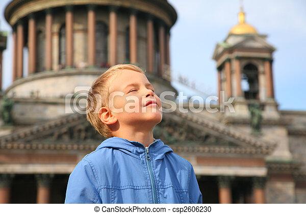 Boy in St.Petersburg - csp2606230