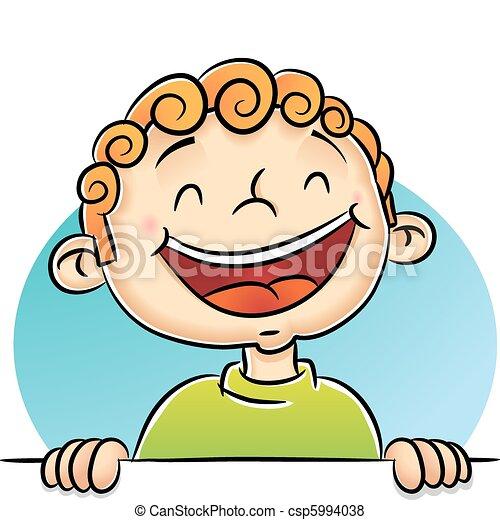 Boy Laughing - csp5994038