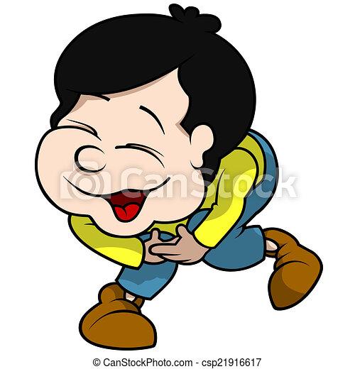 Boy Laughing - csp21916617