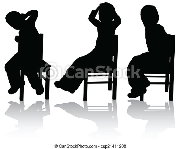 Boy on the chair - csp21411208
