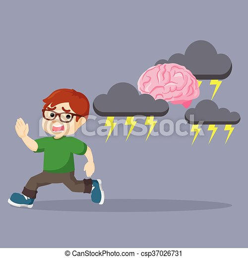 boy running - csp37026731