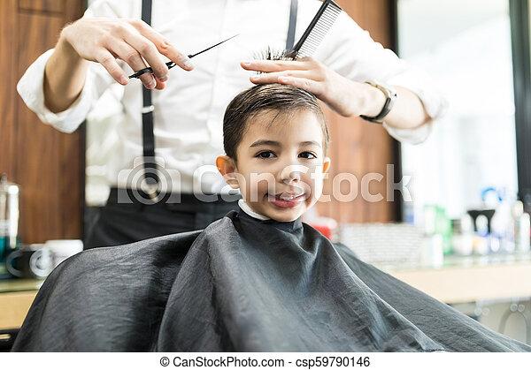 Getting A Haircut 11