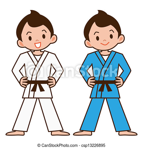 Boy to judo - csp13226895