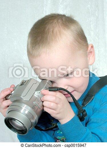 boy with camera#3 - csp0015947