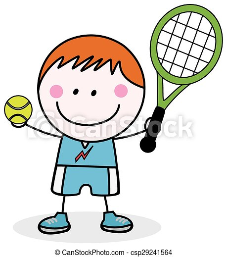 boys playing badminton clip art vector search drawings and rh canstockphoto com badminton clipart free badminton clip art black & white