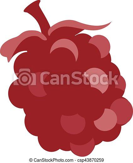 Boysenberry, Huckleberry fruit - csp43870259