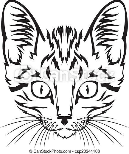 Bozal de gatito - csp20344108