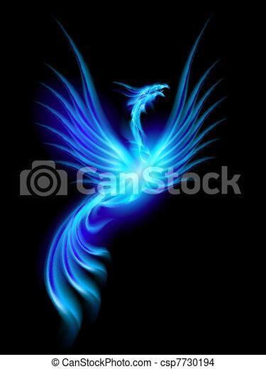 brännande, phoenix - csp7730194