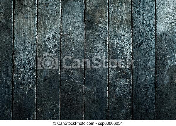 bränt, ved, bakgrund, struktur, skamfila - csp60806054