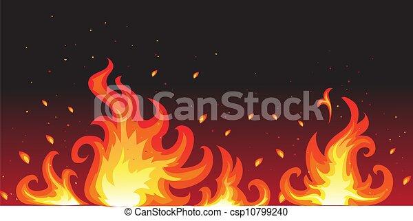 brûler, chaud - csp10799240
