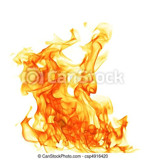brûler, flamme - csp4916420