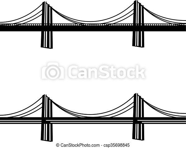 br cke kabel symbol metall schwarz aufh ngung br cke kabel web metall symbol. Black Bedroom Furniture Sets. Home Design Ideas
