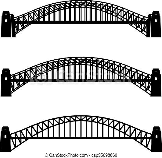 Br cke symbol metall hafen schwarz sydney br cke for Meine wohnung click design free