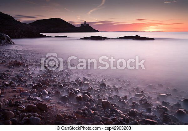 Bracelet Bay pebbles - csp42903203