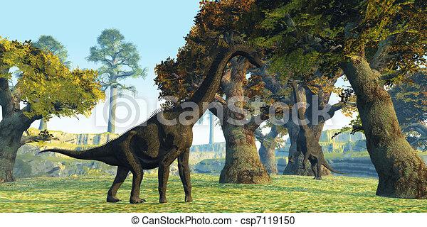 Brachiosaurus - csp7119150
