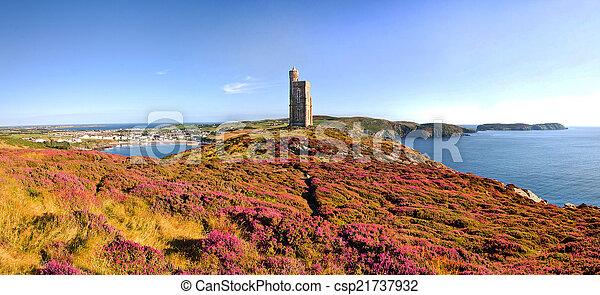 Brada head, Port Erin, Calf of Mann - Isle of Man - csp21737932