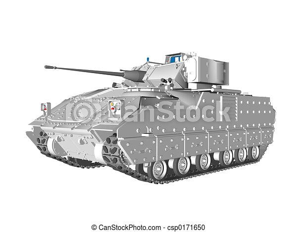 Bradley Type Vehicle - csp0171650
