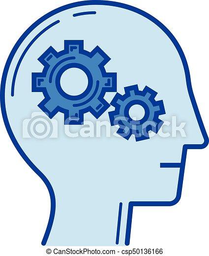 brain activity line icon brain activity vector line icon clip rh canstockphoto com icon clipart png icon clipart black and white