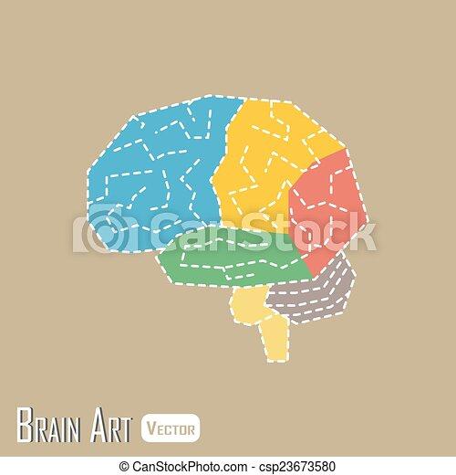 Brain anatomy ( frontal lobe , parietal lobe , temporal lobe ...
