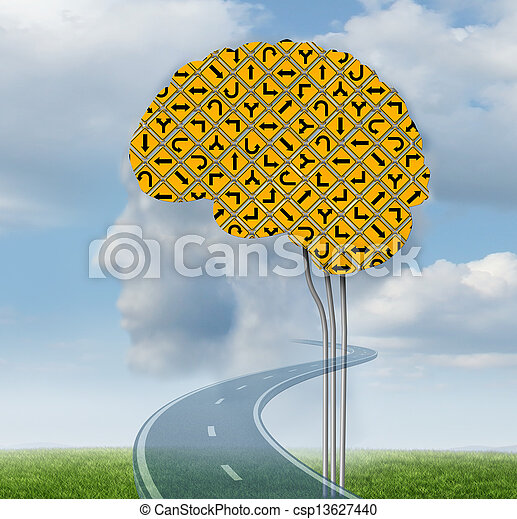 Brain Functioning - csp13627440