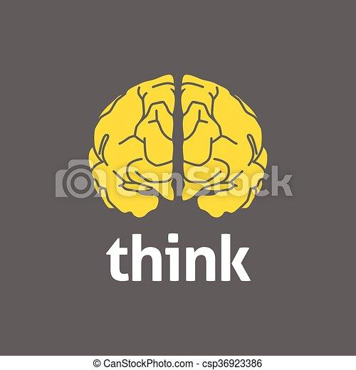 Brain Logo - csp36923386