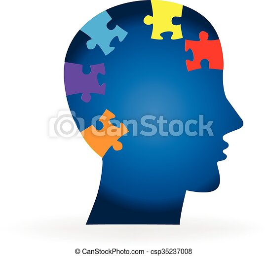 Brain logo - csp35237008