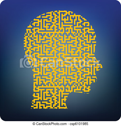 Brain maze - csp6101985
