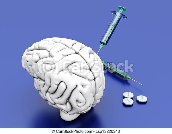 Brain Medication - csp13220348