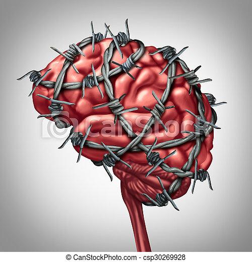 Brain Pain - csp30269928