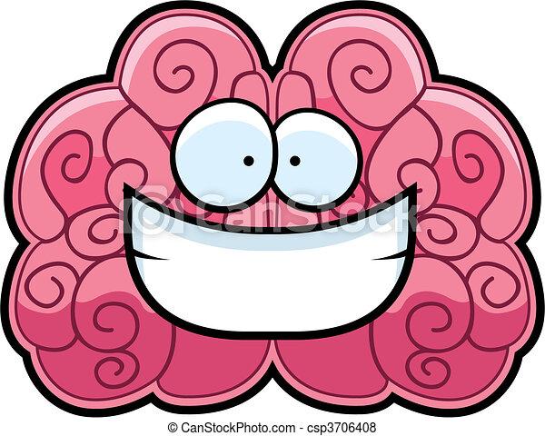 Brain Smiling - csp3706408