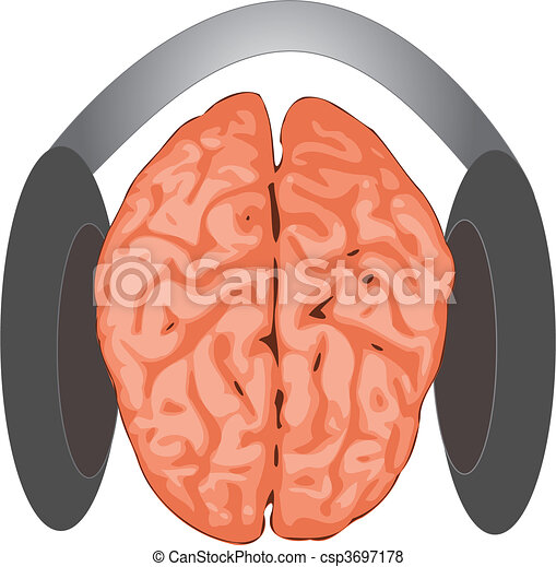 Concepto cerebral - csp3697178